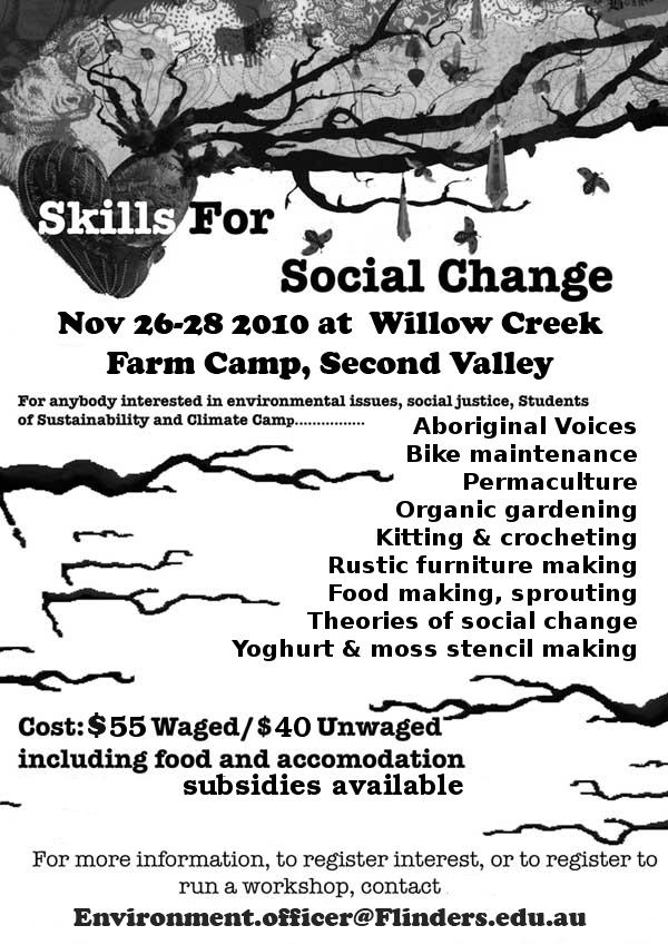 SASEN Skill Share Nov 26-28 – Australian Student Environment Network